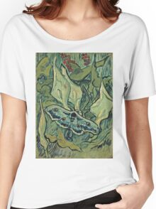 Vincent Van Gogh - Giant Peacock Moth, May 1889 - 1889  Women's Relaxed Fit T-Shirt