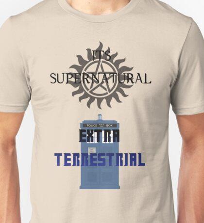 Its supernatural Dr who Unisex T-Shirt