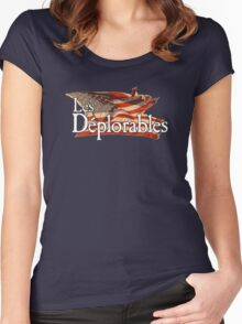 Les Deplorables Women's Fitted Scoop T-Shirt