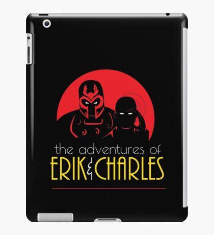 The Adventures of Erik & Charles iPad Case/Skin