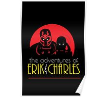 The Adventures of Erik & Charles Poster