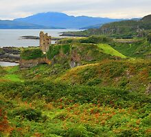 Gylen Castle by RedHillDigital