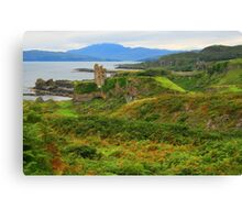 Gylen Castle Canvas Print