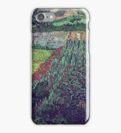 Vincent Van Gogh - Field With Poppies, 1889 iPhone Case/Skin