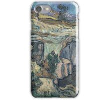 Vincent Van Gogh - Entrance To A Quarry Near Saint-Remy, 1889 iPhone Case/Skin