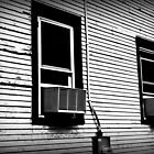 Clapboard and windows by Thad Zajdowicz