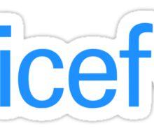 Unicef for Better Future Sticker