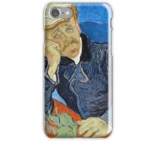 Vincent Van Gogh - Dr Paul Gachet, 1890  iPhone Case/Skin