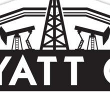 Wyatt Oil Sticker