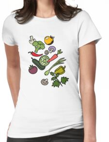 Vegan 03 Womens Fitted T-Shirt