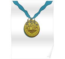 Futurama - Medal of Pollution Poster