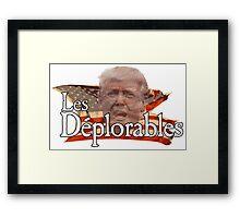 Les Deplorables v2 Framed Print