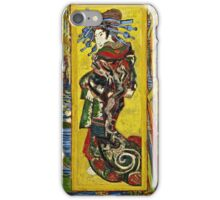 Vincent Van Gogh - Courtesan After Eisen, October 1887 - November 1887  iPhone Case/Skin