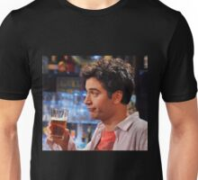 ted mosby enjoying a nice cold beer  Unisex T-Shirt