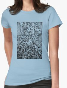 in on the outside Womens Fitted T-Shirt