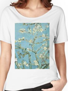Vincent Van Gogh - Almond Blossom, February 1890 - 1890  Women's Relaxed Fit T-Shirt