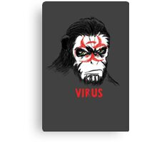 Simian Virus Canvas Print