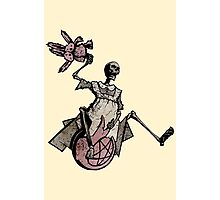 Elsie Got A New Space Hopper! Photographic Print