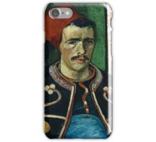 Vincent Van Gogh -  Zouave, June 1888 - 1888  iPhone Case/Skin