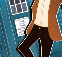 Doctor Who Eleventh Doctor Sticker