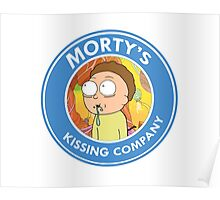 Morty's Kissing Company Poster