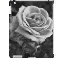 Pink Roses in Anzures 2 B&W iPad Case/Skin