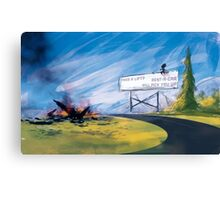 Weary Traveller Canvas Print