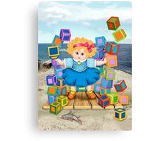 Doll Samson Canvas Print