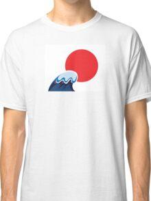 Earthquake and Tsunami damaged Japan Classic T-Shirt