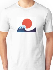 Earthquake and Tsunami memory damaged Japan Unisex T-Shirt
