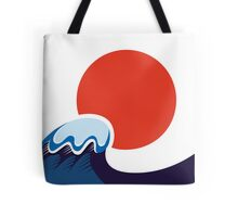 Earthquake and Tsunami memory damaged Japan Tote Bag