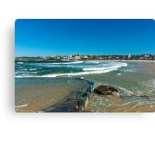 Bondi Beach Tidal pool Canvas Print