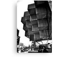 Detroit Blocks Canvas Print