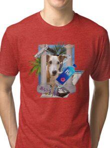 Pupper paradise 04' Tri-blend T-Shirt