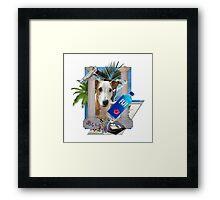 Pupper paradise 04' Framed Print