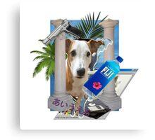 Pupper paradise 04' Canvas Print