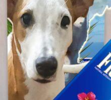 Pupper paradise 04' Sticker