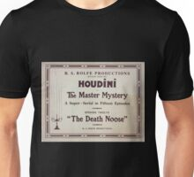 Performing Arts Posters Houdini in The master mystery a super serial in fifteen episodes 2837 Unisex T-Shirt