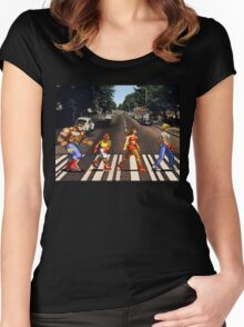 Abbey Road of Rage? Women's Fitted Scoop T-Shirt