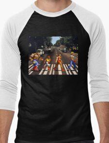 Abbey Road of Rage? Men's Baseball ¾ T-Shirt
