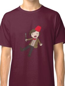 Cartoon 11th Doctor  Classic T-Shirt