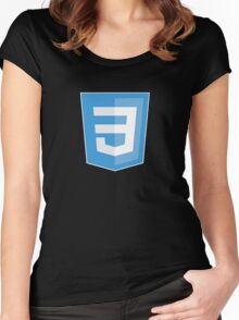 HBO SILICON VALLEY 'CSS3' Women's Fitted Scoop T-Shirt