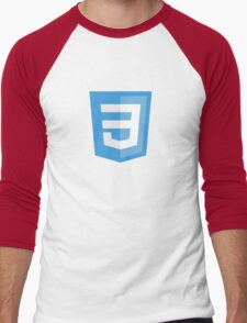HBO SILICON VALLEY 'CSS3' Men's Baseball ¾ T-Shirt