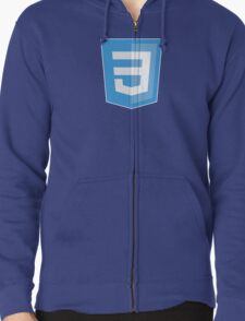 HBO SILICON VALLEY 'CSS3' Zipped Hoodie