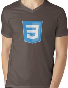 HBO SILICON VALLEY 'CSS3' Mens V-Neck T-Shirt