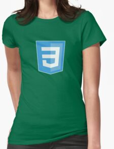 HBO SILICON VALLEY 'CSS3' Womens Fitted T-Shirt