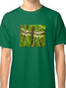 Dragonfly In Brown And Yellow Classic T-Shirt