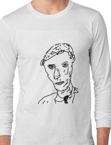 Baritone Sax Jazz Player Long Sleeve T-Shirt