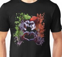 green red king queen crazy love Unisex T-Shirt