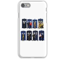 Doctor Who - Doctors & Tardises iPhone Case/Skin